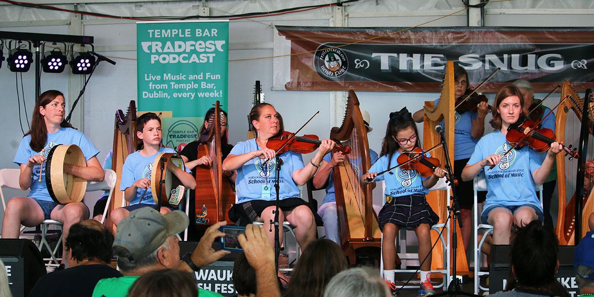 Milwaukee Irish Fest School of Music
