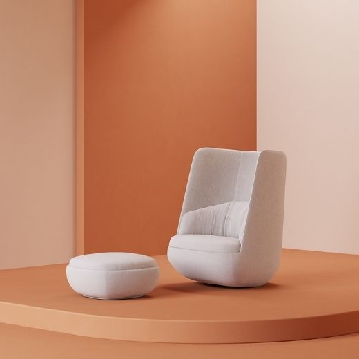 Gimbal Lounge Chair neocon 2021 padstyle.com