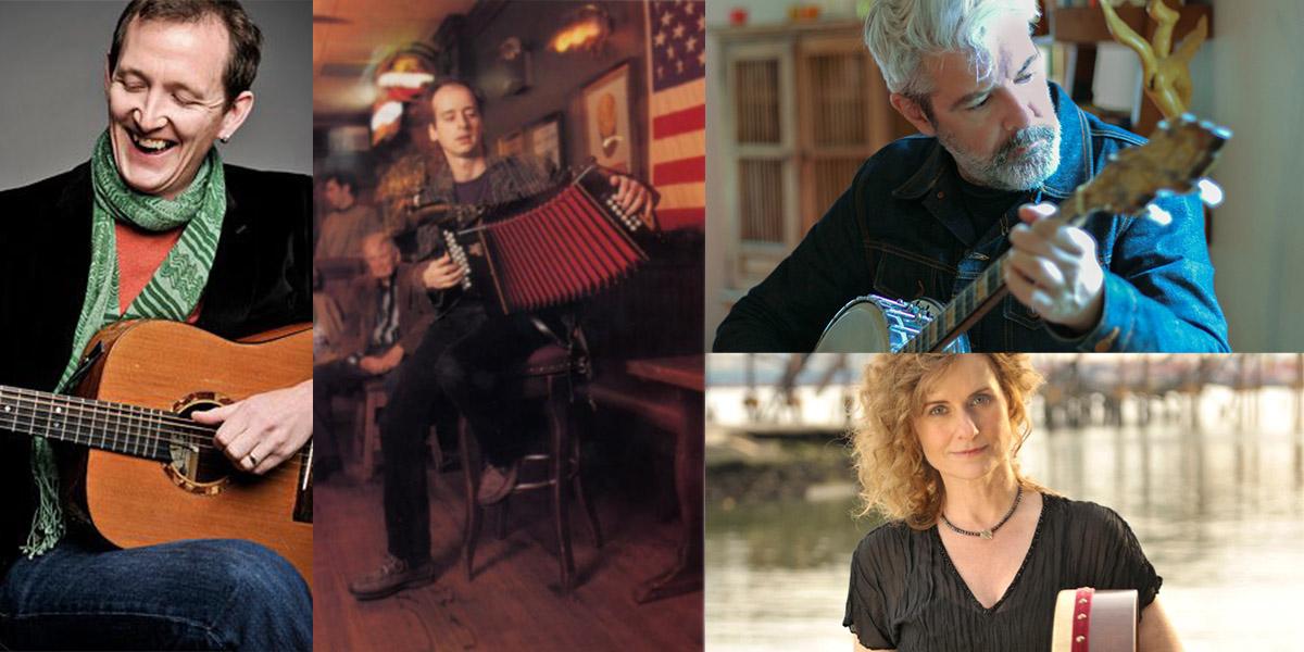 Irish Music Masters ft. John Doyle, Seamus Egan, John Williams and Cathie Ryan